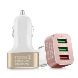 Quick Charge 3.0 42W USB 3 Ports Cell Phone Car Charger