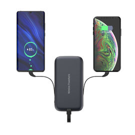 Portable Multiport 5W 10000mAh Qi Charger Power Bank